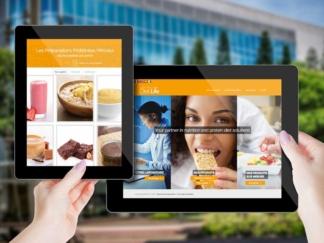 DietLife a choisi L'agence pour rafraîchir ses éléments de communication