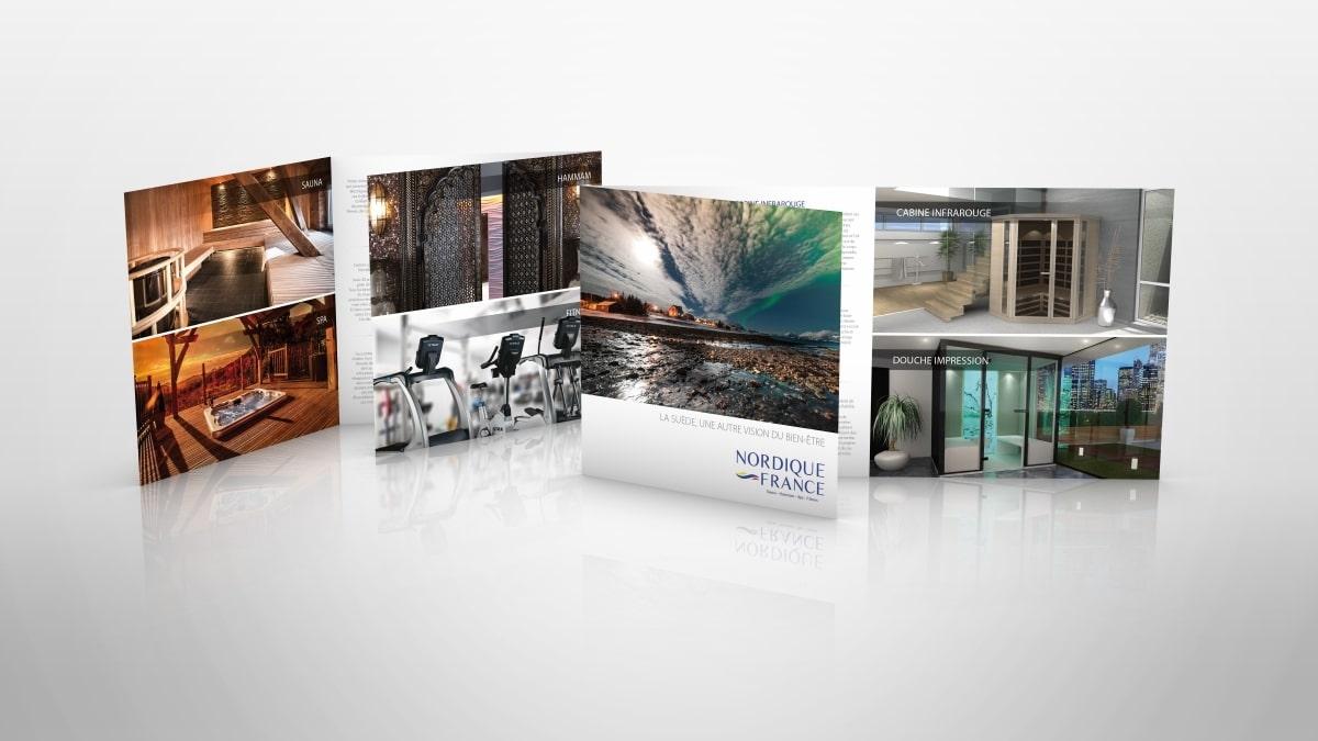 Brochures et PLV